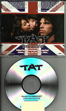 TAT Road to Paradise w/ RARE EDIT TST PRESS PROMO CD Radio DJ Single 2008