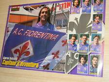 Q25 Poster Gabriel Batistuta Fiorentina retro Inzaghi-Anderson lazio