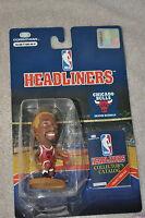 NBA STARTING LINEUPS SLU HEADLINERS CHICAGO BULLS DENNIS RODMAN YELLOW HAIR