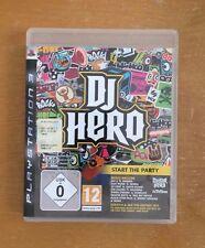 Dj Hero x PS3 usato/in ottime condizioni (solo gioco)