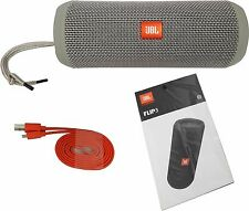 JBL Flip 3 Portable Bluetooth Harman Kardon Speaker Splashproof HD Music - Gray