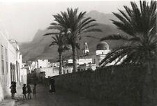 Paul Wolff & Tritschler Vintage Gelatinesilberabzug Kanarische Inseln Agaete 40s