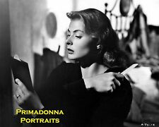 "INGRID BERGMAN 8X10 Lab Photo B&W 1950 ""Stromboli"" EARLY GLAMOUR MOVIE PORTRAIT"