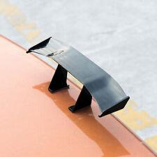 Universal Black Mini Spoiler Car Auto Rear Tail Decor Spoiler Wing Carbon Fiber