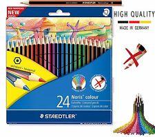 Staedtler 185 C24 Noris Colored Pencil - 24 Count