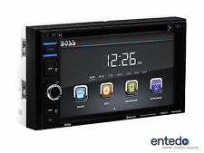 BOSS Audio bv9364b TOUCHSCREEN DVD Auto Radio USB mp3 BLUETOOTH AUX SD 2din NUOVO