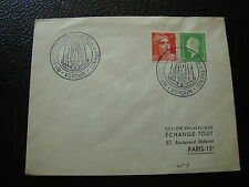 FRANCE - enveloppe 22/6/1952 (cy66) french