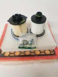 Oil Air Fuel Cabin Filter Sump plug Service Kit Vauxhall Insignia 2.0CDTi 08-14