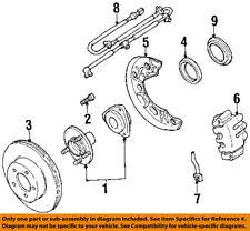 FORD OEM Disc Brake-Front-Backing Plate Dust Splash Shield Left F57Z2K005AA