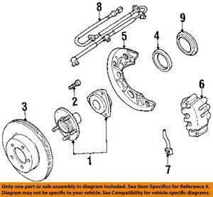 FORD OEM Brake-Front-Wheel Stud F57Z1107AA