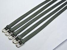 10 Black Rubber Wrap Bracelet Wristband Fit 8mm Slide Charm DIY