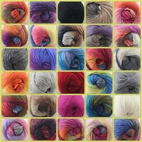 Sale 1Ballx50gr NEW Knitting Yarn Chunky Hand-woven Colorful Wool Scarves Shawls