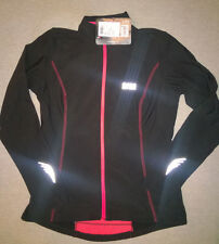 **LADIES GORE ELEMENT JERSEY BLACK/ORANGE, SIZE XL (BUT SMALL FITTING), BNWT**