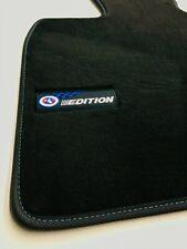 BMW 5er Gran Turismo F07 Facelift Velours Editon Fußmatten BJ. ab 14 Blaue Naht