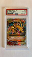 M Charizard EX 13 - 2016 Pokemon XY Evolutions Holo Rare PSA 10 Gem Mint - CLEAN