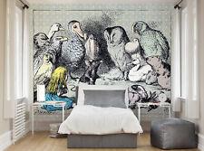 ohpopsi Alice In Wonderland Animal Meeting Wallpaper Wall Mural