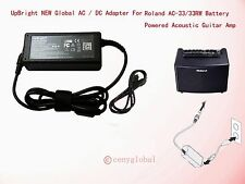 AC Power Adapter For Roland AC-33 AC-33RW Battery Powered Acoustic Guitar Amp