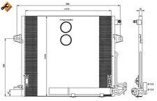 NRF Kondensator, Klimaanlage  für MERCEDES-BENZ