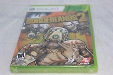 Borderlands 2 (Microsoft Xbox 360, 2012) Brand New Factory Sealed