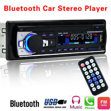 Bluetooth Car Auto Stereo Audio In-Dash SD USB FM Aux Input MP3 Radio Player