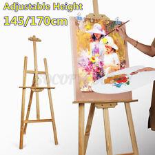Wooden Adjustable Studio Easel Display Artist Wedding Painting Stand Art Craft