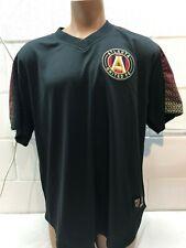Atlanta United FC MLS Mitchell & Ness Black Mesh Jersey Shirt Men's Size XL EUC