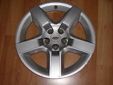 "1 OEM 08-12 Chevrolet Malibu 17"" Hubcap SILVER PAINTED Wheel Cover GM #4"