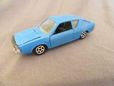 836F Vintage Norev 168 Renault 17 TS Coupé Blu 1:43