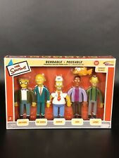 Nib Simpsons Limited Edition Series 2 Bendable Poseable Figures Power Plant