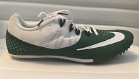 Nike Men's Women's Zoom Rival S 8 Track Spikes Green Racing Running MSRP $65 NEW