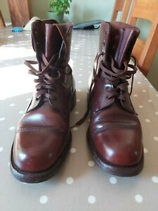 Hoggs of Fife Vintage Handmade Leather Boots - UK7