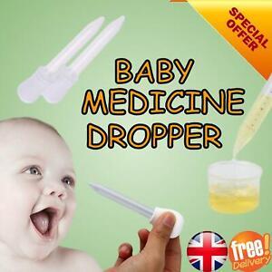 Baby Child Medicine Dropper Pipette Dispenser Acurate Measurement Easy Control