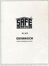 SAFE- VD - Österreich  1965 - 1981 -  in grünem  Ringb.- NP 178,-- € ( Z492 )