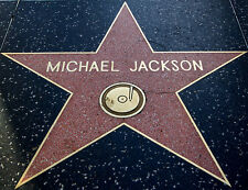 Lámina-Hollywood Walk of Fame Michael Jackson Piso Star (imagen Cartel