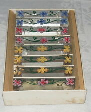 Mirror Place Cards for the Dinner Table Bridge Sets and Prizes Floral A