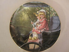THE SURREY RIDE collector plate SANDRA KUCK Days Gone By CHILDREN Horse Buggy