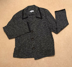 Blooming of Dublin Black maternity sparkly soft Jacket Size 12 Smart Casual