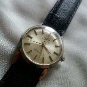Vintage Movado Kingmatic S Automatic Steel Wristwatch