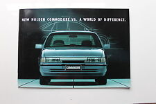 HOLDEN COMMODORE VP BROCHURE HSV HDT BROCK