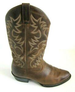 "EUC Ariat Heritage Roper 35525 10"" Brown Mens Cowboy Western Boots 11 EE 11EE"