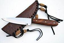 """6.75"""" Patch Skinning Skinner Hunting Knife Knives Stainless Custom +Sheath"""