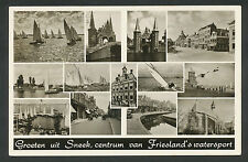 Groeten uit Sneek  centrum van Friesland's watersport
