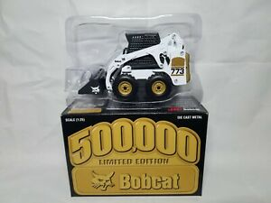 Bobcat 500K 773 Gold Skid Steer Loader Wan Ho Diecast 1:25 Scale Model Toy NIB