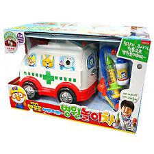 Pororo Ambulance Hospital Play Car Toy Light Sound Theme song Children Kid Gift