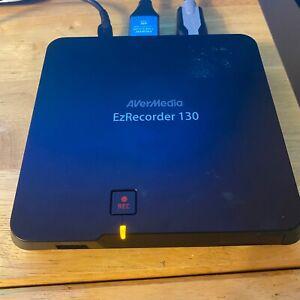AVerMedia EzRecorder 130 ER130 1080p USB HD Video Capture