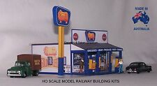 HO Scale Golden Fleece Country & Petrol Model Railway Building Kit - GFCS1