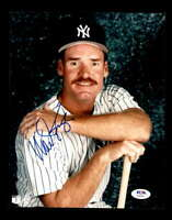 Wade Boggs PSA DNA Coa Hand Signed 8x10 Yankees Photo Autograph