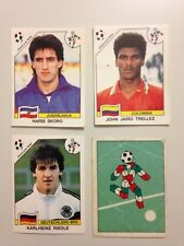 LOT 4 STICKER PANINI ITALIA 90 WORLD CUP