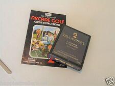1979 Atari 2600 Game Arcade Golf Sears with Manual ATARI 2600 Video Game System