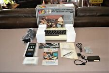 Commodore VIC 20 Personal Computer Mint In Box Complete Nicest One You Will See!